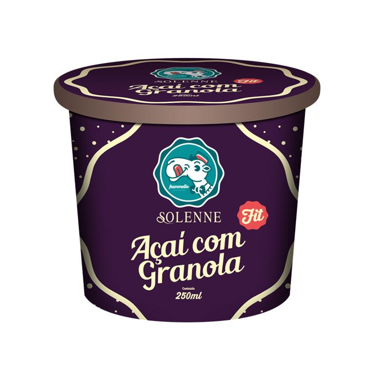 Ilustração para embalagem de sorvete Kammello
