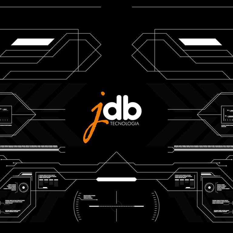 Design Gráfico para padrão visual da marca JDB tecnologia