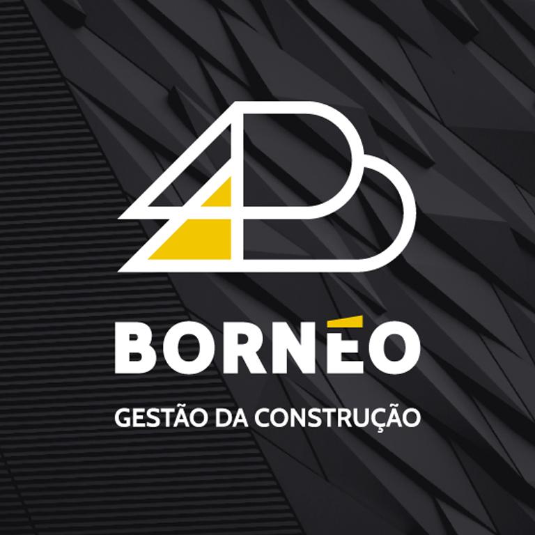 Marca criada para Bornéo Gestão de Construção